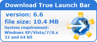 Download True Launch Bar