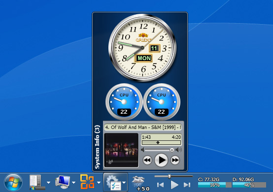 Click to view True Launch Bar 6.0 screenshot